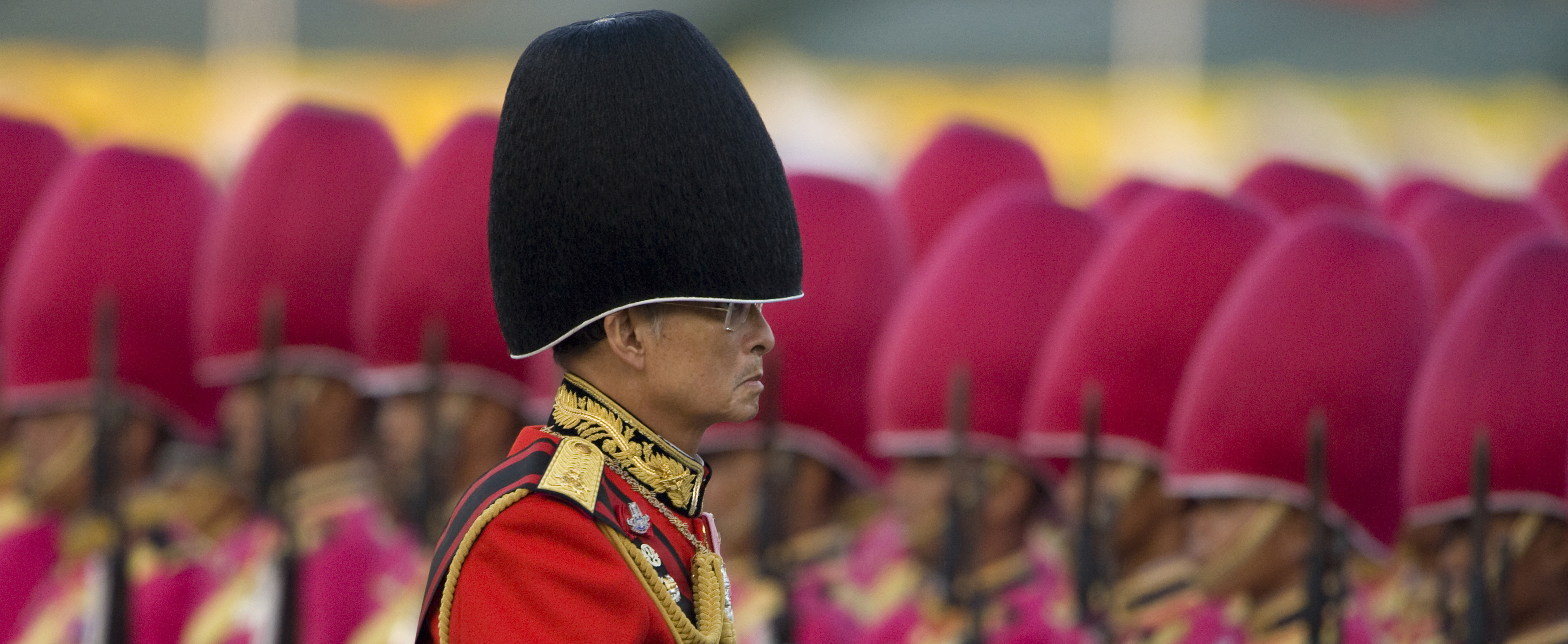 King Bhumibol Adulyadej in December 2008