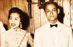Sirikit and Bhumibol